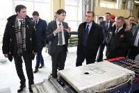 Врио губернатора Тульской области Алексей Дюмин посетил Алексинский химкомбинат, Фото: 15