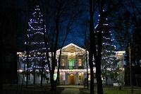 В Ясной Поляне появилась новогодняя иллюминация, Фото: 3