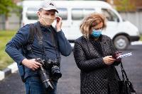 Экспресс-тест на covid-19, маски и социальная дистанция: В Туле первых призывников отправили в армию, Фото: 52