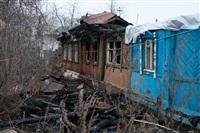 Из-за пожара тульская семья живет в сарае , Фото: 9