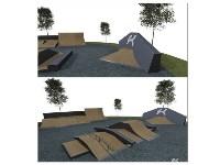 Строительство скейтпарка в Центральном парке., Фото: 2