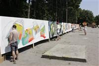 Молодые туляки попытали свои силы на конкурсе граффити, Фото: 7
