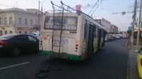 ДТП троллейбус столкнулся с Фольксвагеном, Фото: 6