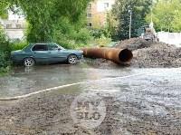 Дворы на Красноармейском проспекте затопило нечистотами, Фото: 8