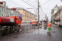 В Туле продолжается масштабная дезинфекция улиц, Фото: 6