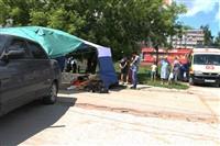В Туле легковушка протаранила торговую палатку, Фото: 8