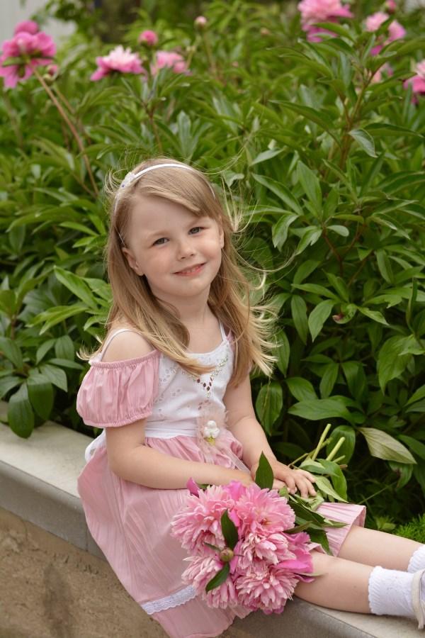 Нежные цветочки для лапочки дочки!