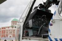 В кремле приземлился вертолет, который установит шпиль колокольни, Фото: 18