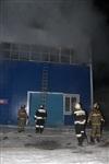 Пожар на складе ОАО «Тулабумпром». 30 января 2014, Фото: 2