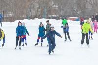 В Туле прошли массовые конькобежные соревнования «Лед надежды нашей — 2020», Фото: 11