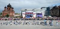 Развод караулов Президентского полка на площади Ленина. День России-2016, Фото: 13