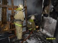Пожар на ул. Михеева в ночь на 7 августа 2015 года, Фото: 7