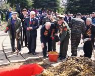 Новомосковские полицейские приняли участие в захоронении останков воинов Красной Армии, Фото: 4