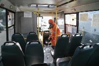 Дезинфекция транспорта в Туле, Фото: 12