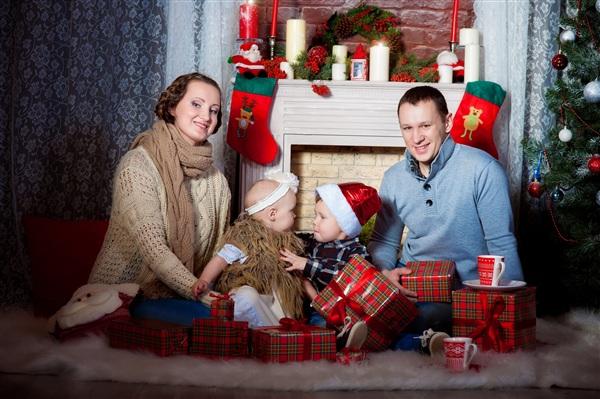 Семья Морозовых -даже в морозы согреваем друг друга