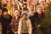 Рождественское богослужение в Успенском соборе Тулы, Фото: 25