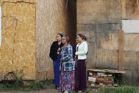 В тульском селе сносят незаконные цыганские постройки, Фото: 7