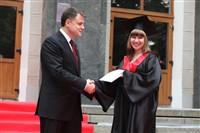 Владимир Груздев поздравил выпускников магистратуры ТулГУ, Фото: 42