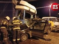 Столкновение Renault и грузовика, Фото: 1