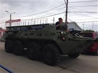 В Мясново проехал БТР, Фото: 3