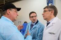 Дмитрий Миляев посетил предприятие по производству замороженной рыбы и полуфабрикатов, Фото: 26