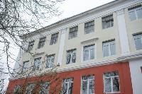 Дмитрий Миляев проверил, как идет ремонт вечерней школы на ул. Зорге, Фото: 25
