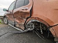 В ДТП на трассе М-2 в Туле у внедорожника оторвало колесо, Фото: 13