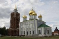 Установка шпиля на колокольню Тульского кремля, Фото: 53