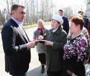 Учащиеся Волхонщинской средней школы показали Алексею Дюмину школьный музей боевой славы, Фото: 14