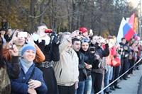 Третий этап эстафеты олимпийского огня: проспект Ленина, Фото: 24