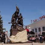 Открытие монумента и бронепоезда на Московском вокзале. 8 мая 2015 года, Фото: 59