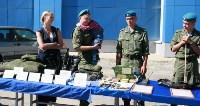 Командиру 106-й гвардейской воздушно-десантной дивизии вручено Георгиевское знамя, Фото: 22