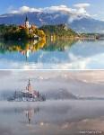 Озеро Блед, Словения, Фото: 1