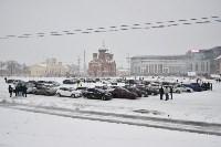 Автофлешмоб на площади Ленина в честь Дня памяти жертв ДТП, Фото: 8
