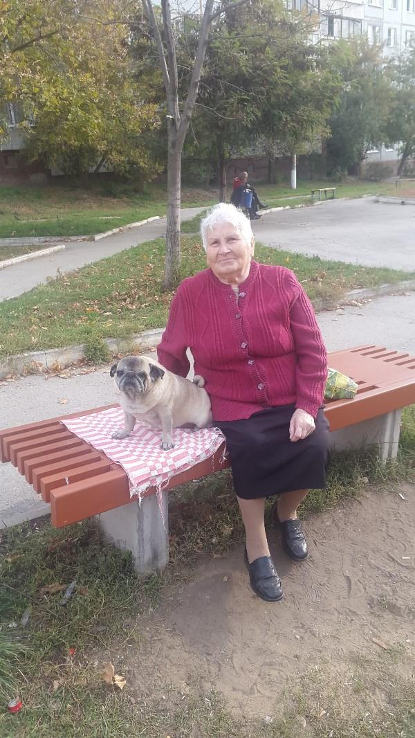 Бабуля и ее Ирмуся)) :-D 100% любовь)