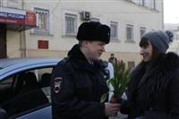 Полицейские поздравили автоледи с 8 Марта, Фото: 4