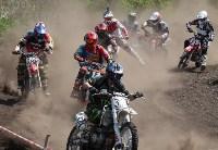 Юные мотоциклисты соревновались в мотокроссе в Новомосковске, Фото: 135