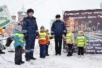 Автофлешмоб на площади Ленина в честь Дня памяти жертв ДТП, Фото: 20