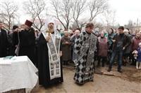 Освящение креста купола Свято-Казанского храма, Фото: 16