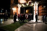 Пасхальное богослужение в Успенском соборе, Фото: 28