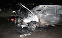 В Пролетарском районе Тулы сожгли иномарку, Фото: 10
