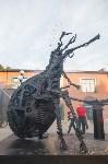 В Туле открыли скульптуру «блохе-киборгу», Фото: 62