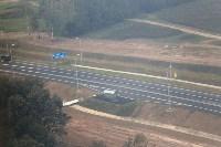 В Суворовском районе  введен в эксплуатацию участок автодороги «Калуга-Перемышль-Белёв-Орёл», Фото: 42