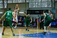 Тульские баскетболисты «Арсенала» обыграли черкесский «Эльбрус», Фото: 63