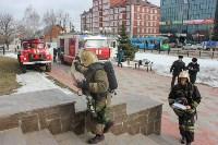 Тульские пожарные ликвидировали условное возгорание в здании суда, Фото: 6