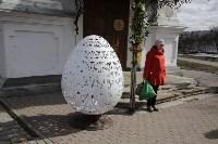 Туляки освятили куличи, яйца и пасхи в тульских храмах, Фото: 7