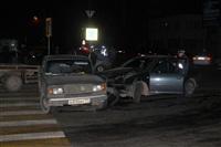 "На ул. Ложевой в Туле Volkswagen протаранил ""семерку"", Фото: 1"