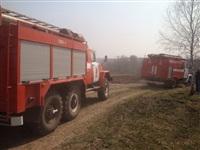 В Ленинском районе из-за горящей травы сгорела дача, Фото: 3
