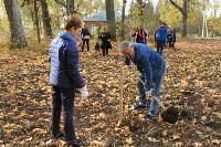 Депутаты Тульской областной Думы высадили яблони в Тургеневской усадьбе, Фото: 2