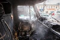 """Грузовой """"Мерседес"""" сгорел на Советской, Фото: 4"""
